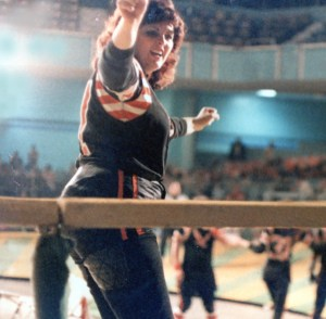 Did someone say Roller Derby? 'The Rolling Mountain' of the Hollywood Hawks.